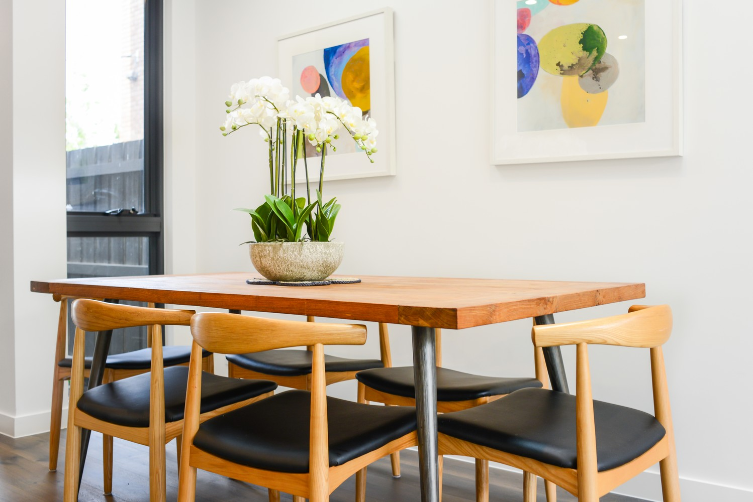 Dining table at Victoria Road Townhouse