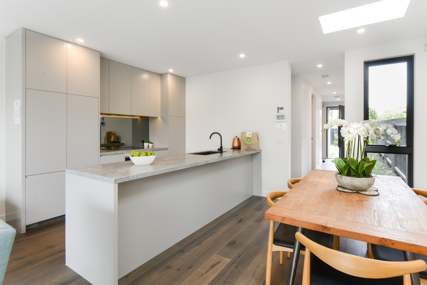 Kitchen at Victoria Road Townhouse
