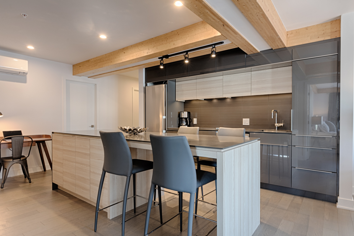 Kitchen at Arbora Apartments