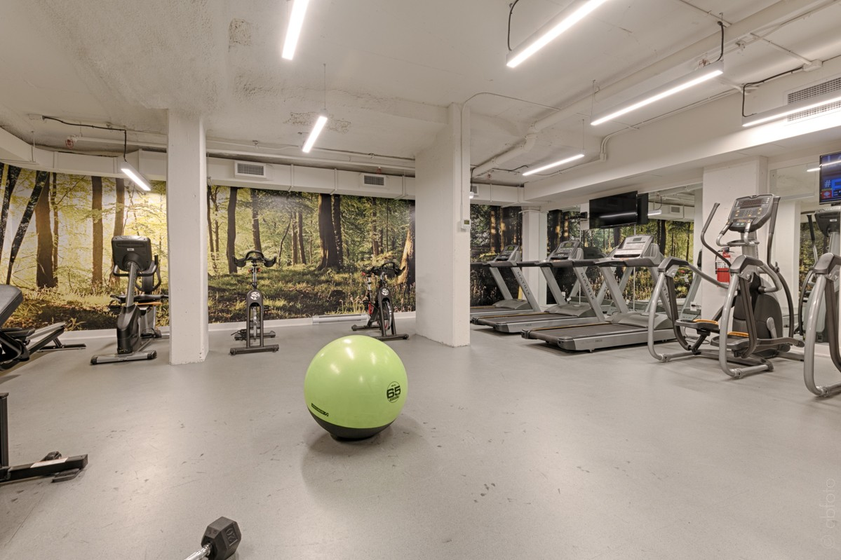 Gym at Arbora Apartments