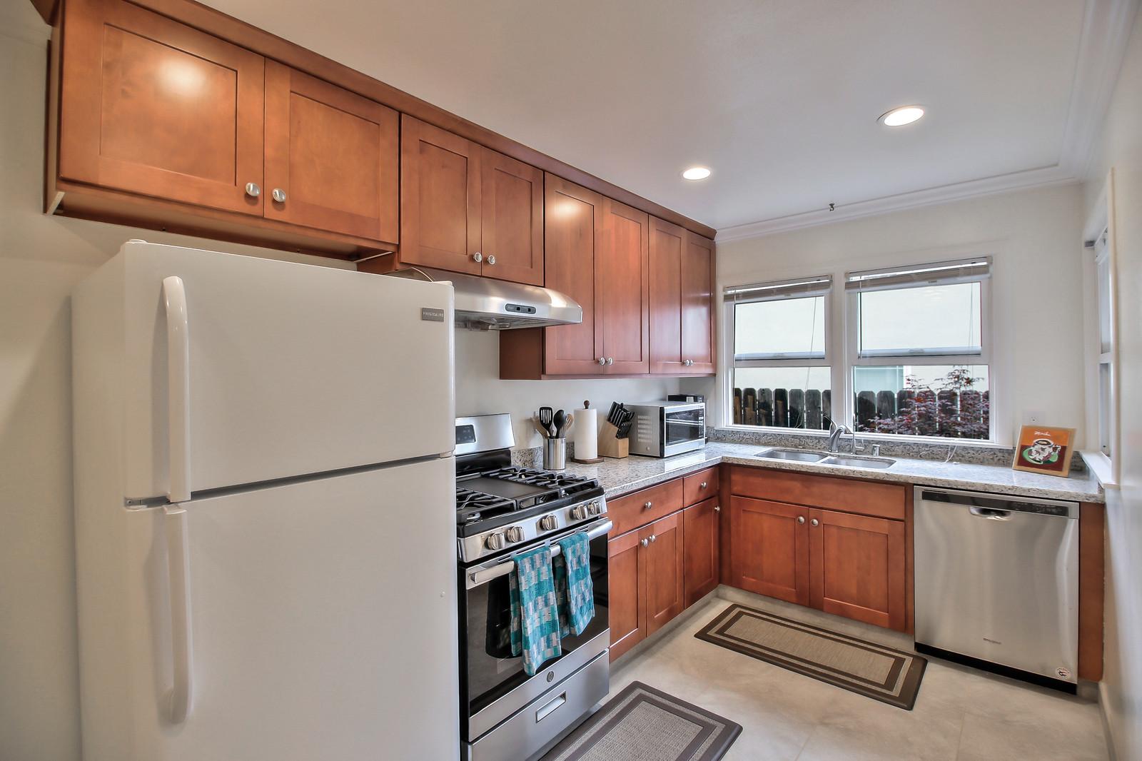 Kitchen at San Jose Duplex Apartment