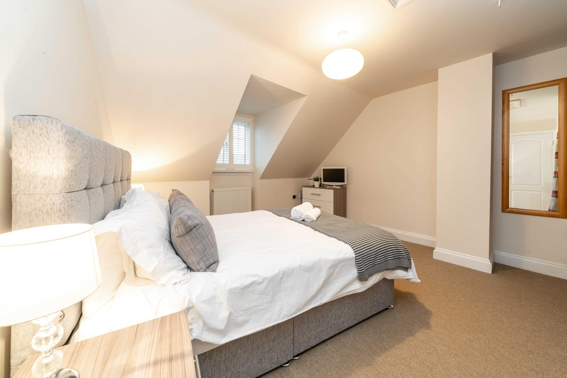 Bedrooms at Stowfield House