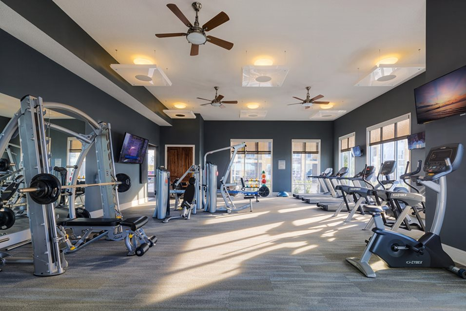 Fitness Center at Lake Vue Apartments