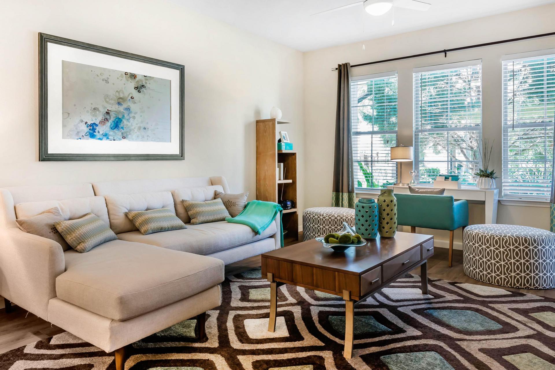 Living Room at Citra Windermere Apartments