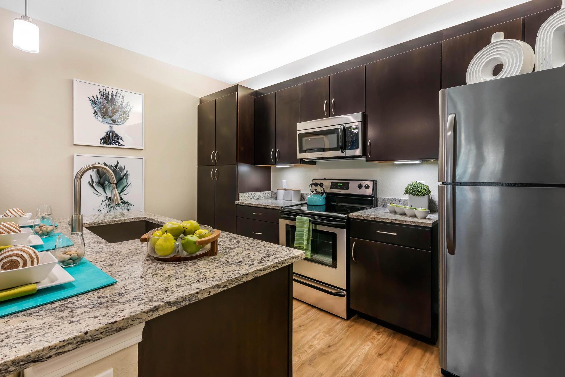 Kitchen at Citra Windermere Apartments