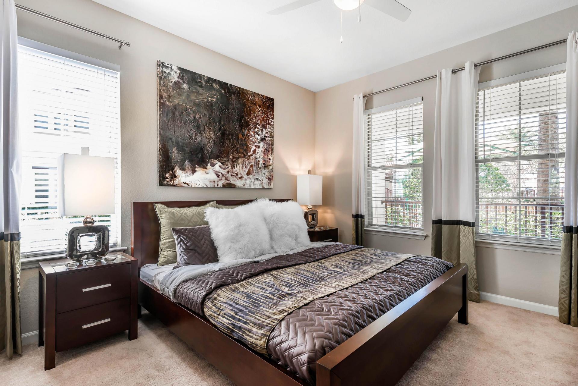 Bedroom at Citra Windermere Apartments
