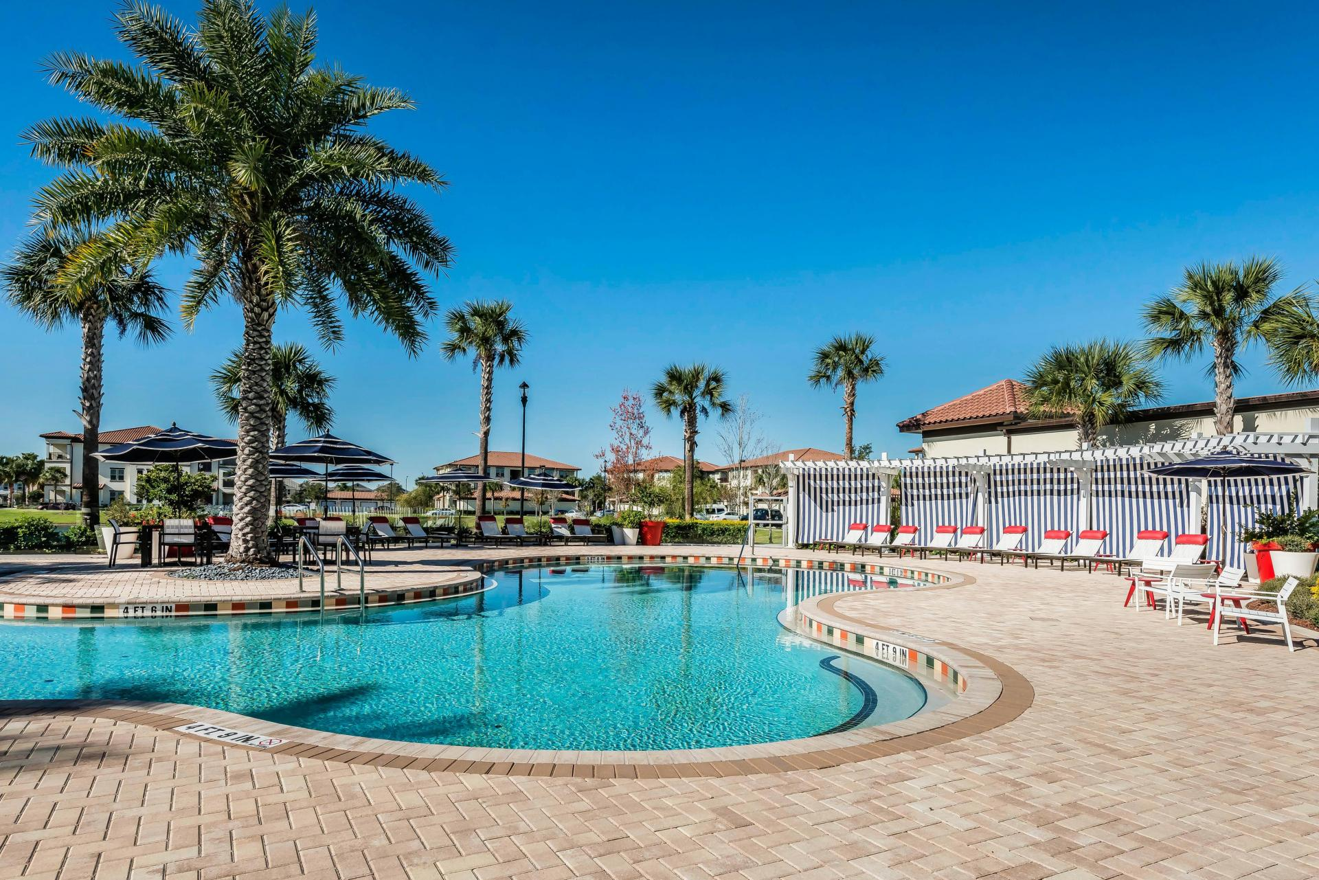 Resort Style Pool at Citra Windermere Apartments