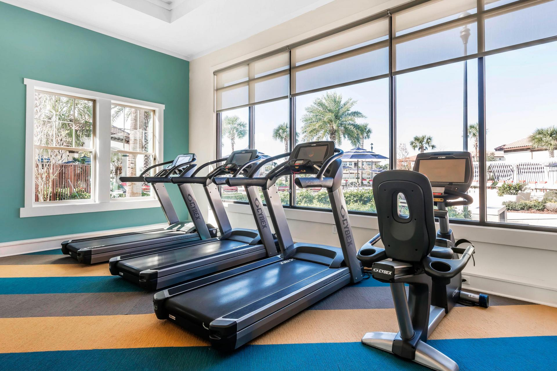 Fitness Center at Citra Windermere Apartments