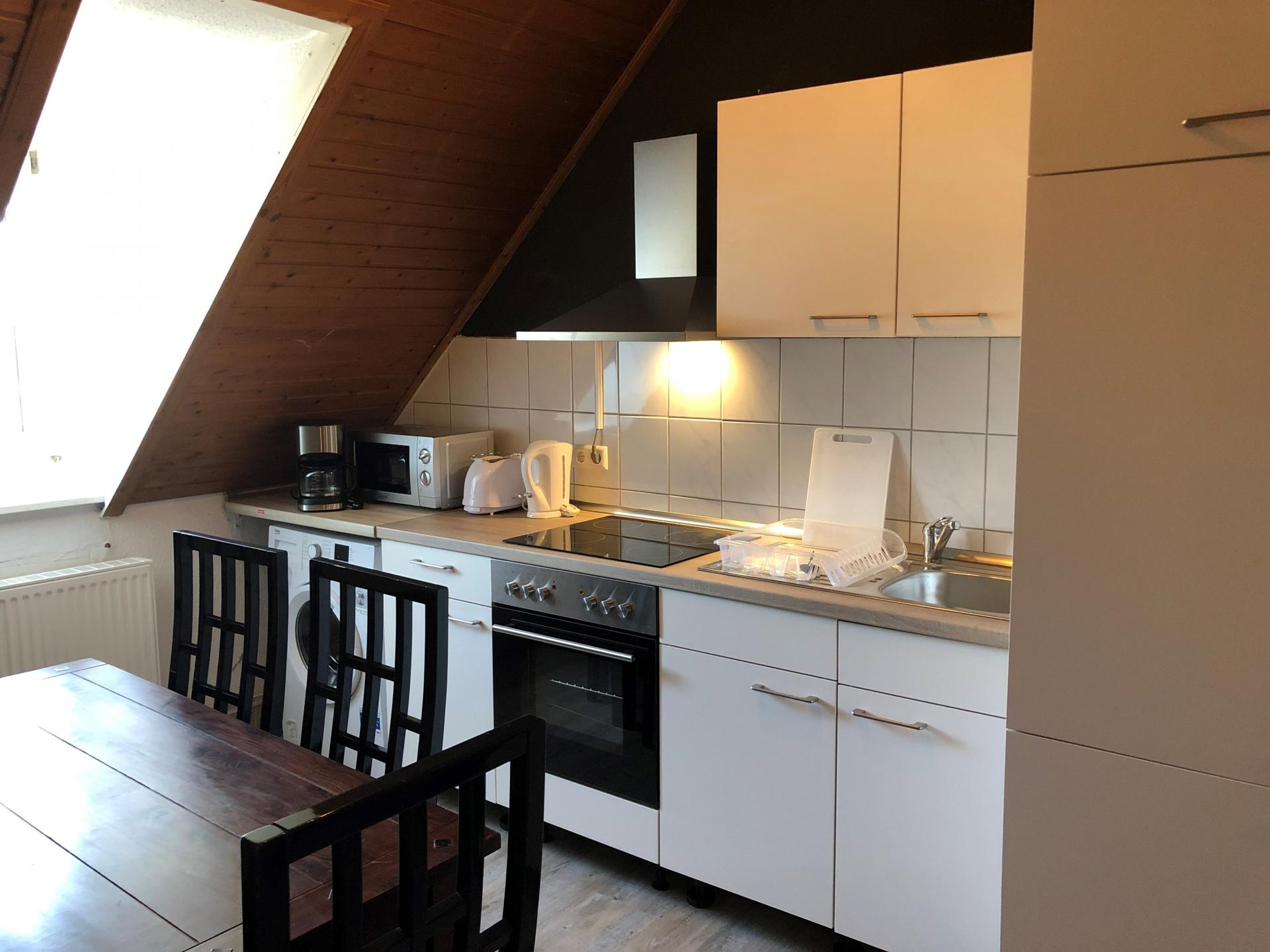 Kitchen at Schulenburger St Apartment