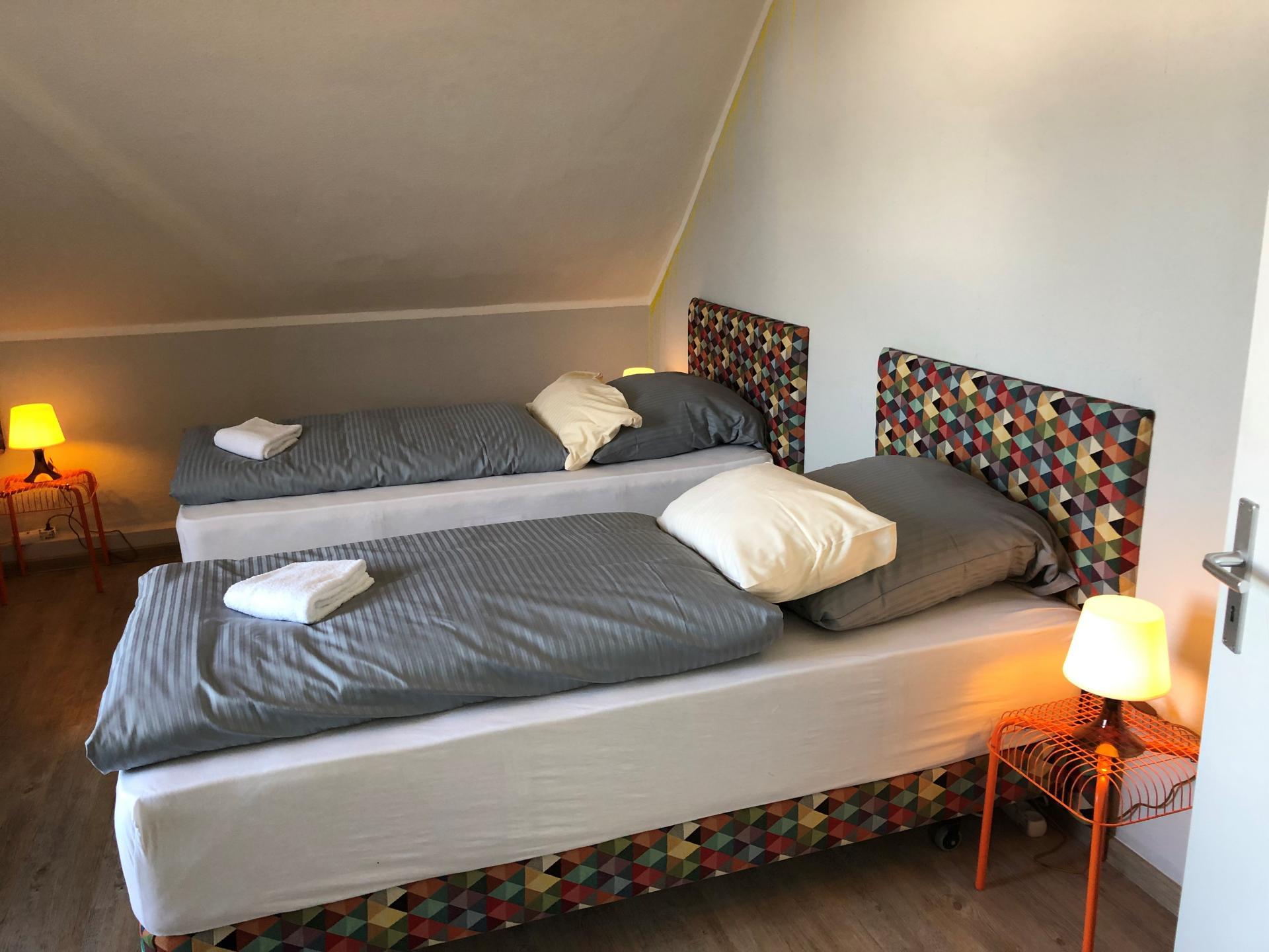 Bedroom at Schulenburger St Apartment