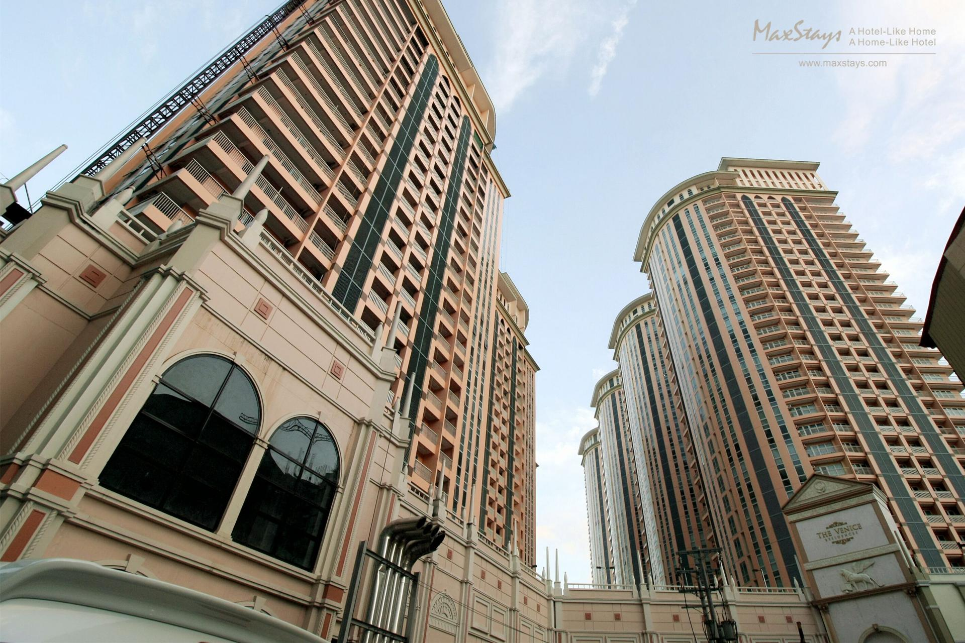 Exterior at Alessandro Tower Apartments