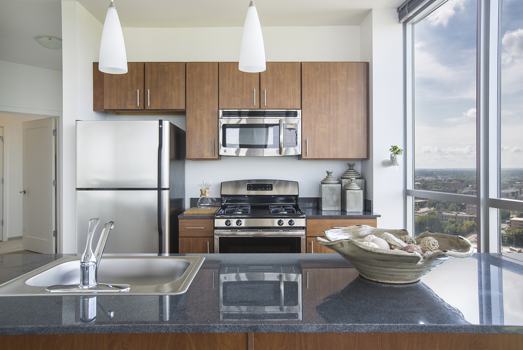 Kitchen at LPM Apartment