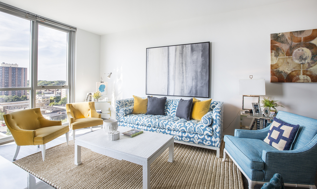 Living Room at LPM Apartment