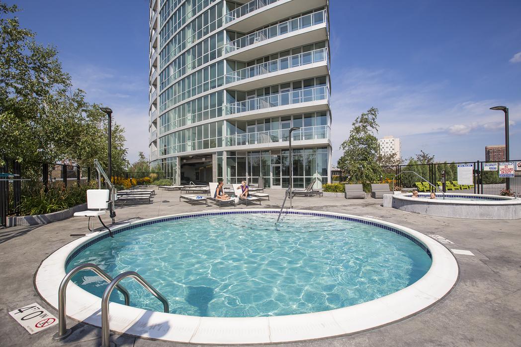 Pool at LPM Apartment