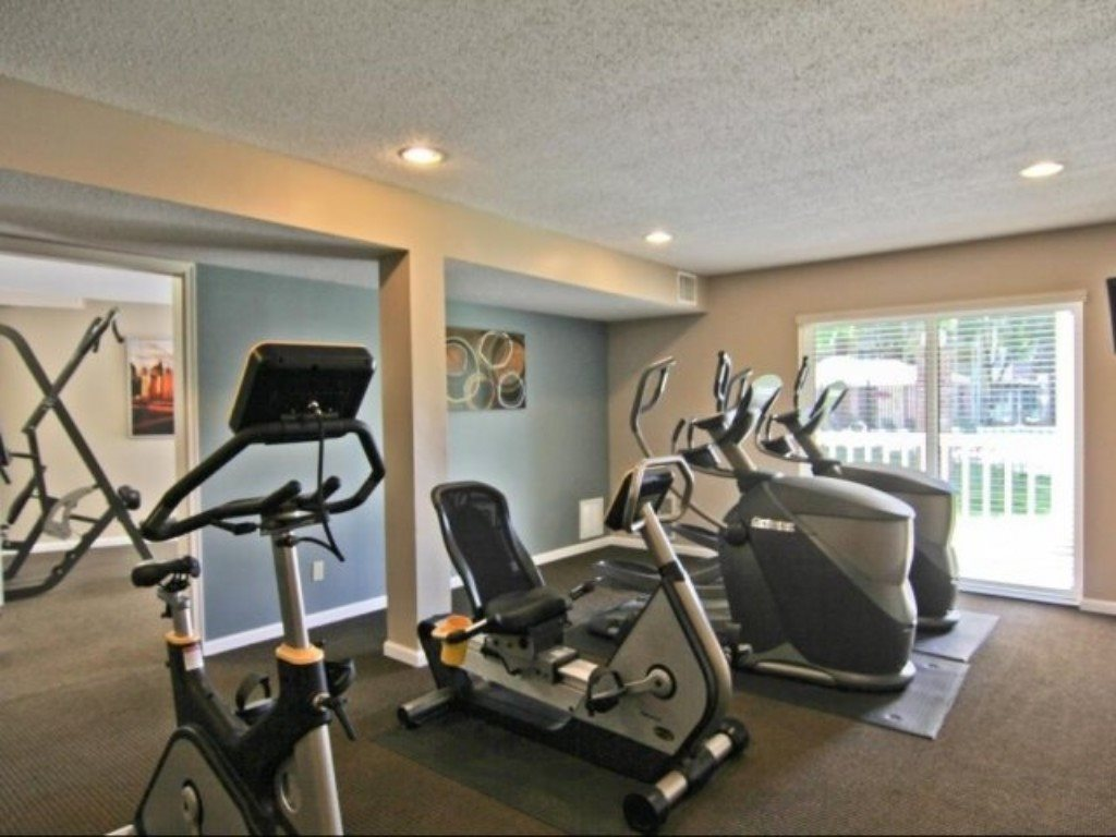 Gym at City Scape Apartments