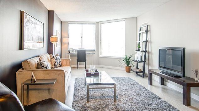 Living Room at Bolero Flats
