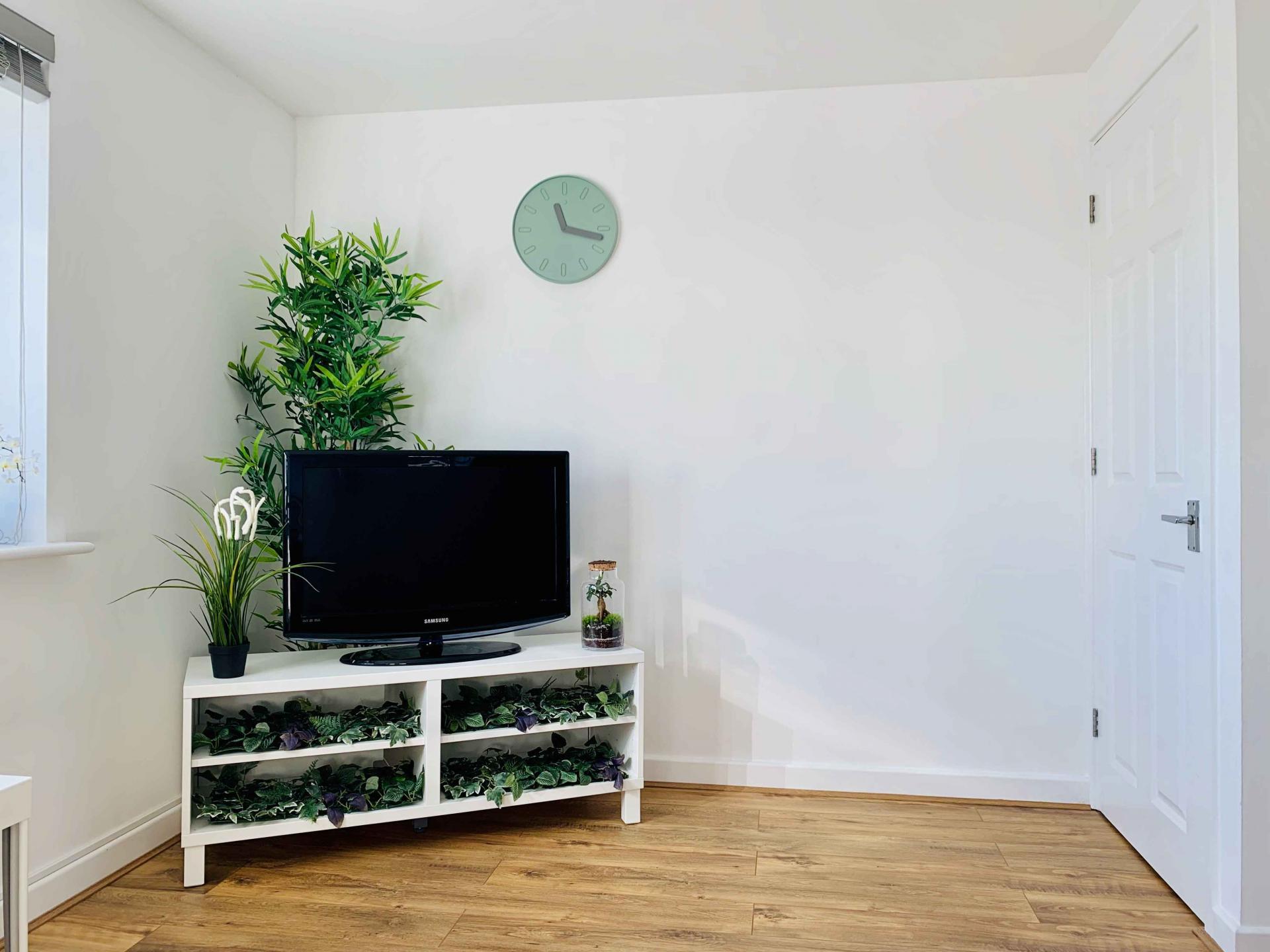 Clock at Barrack Road Apartment