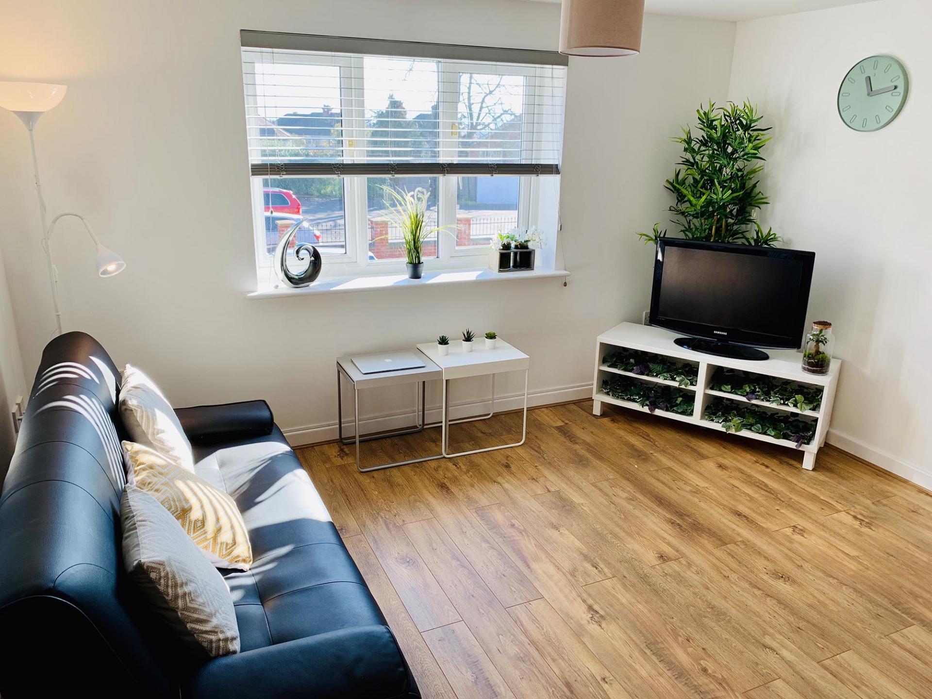TV at Barrack Road Apartment