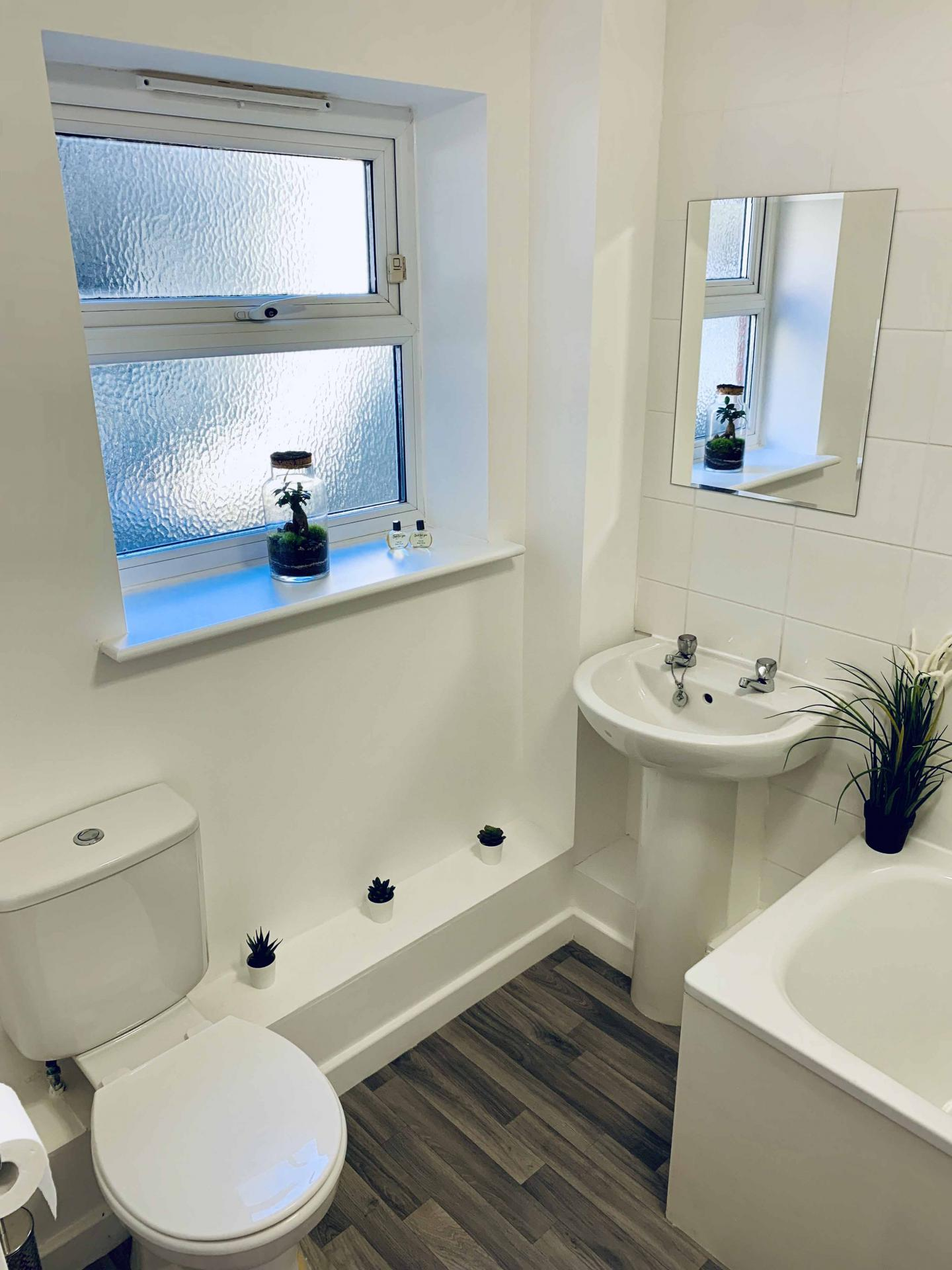 Sink at Barrack Road Apartment