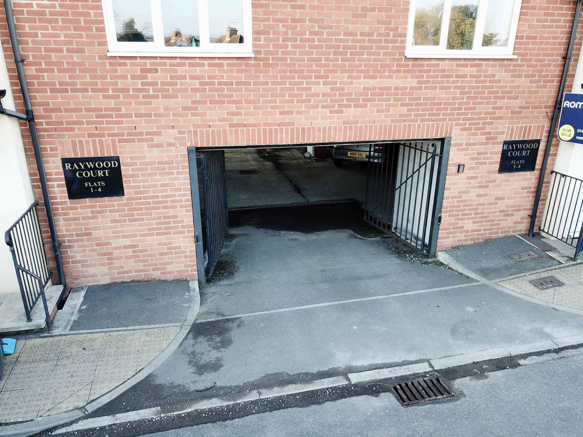 Parking at Barrack Road Apartment