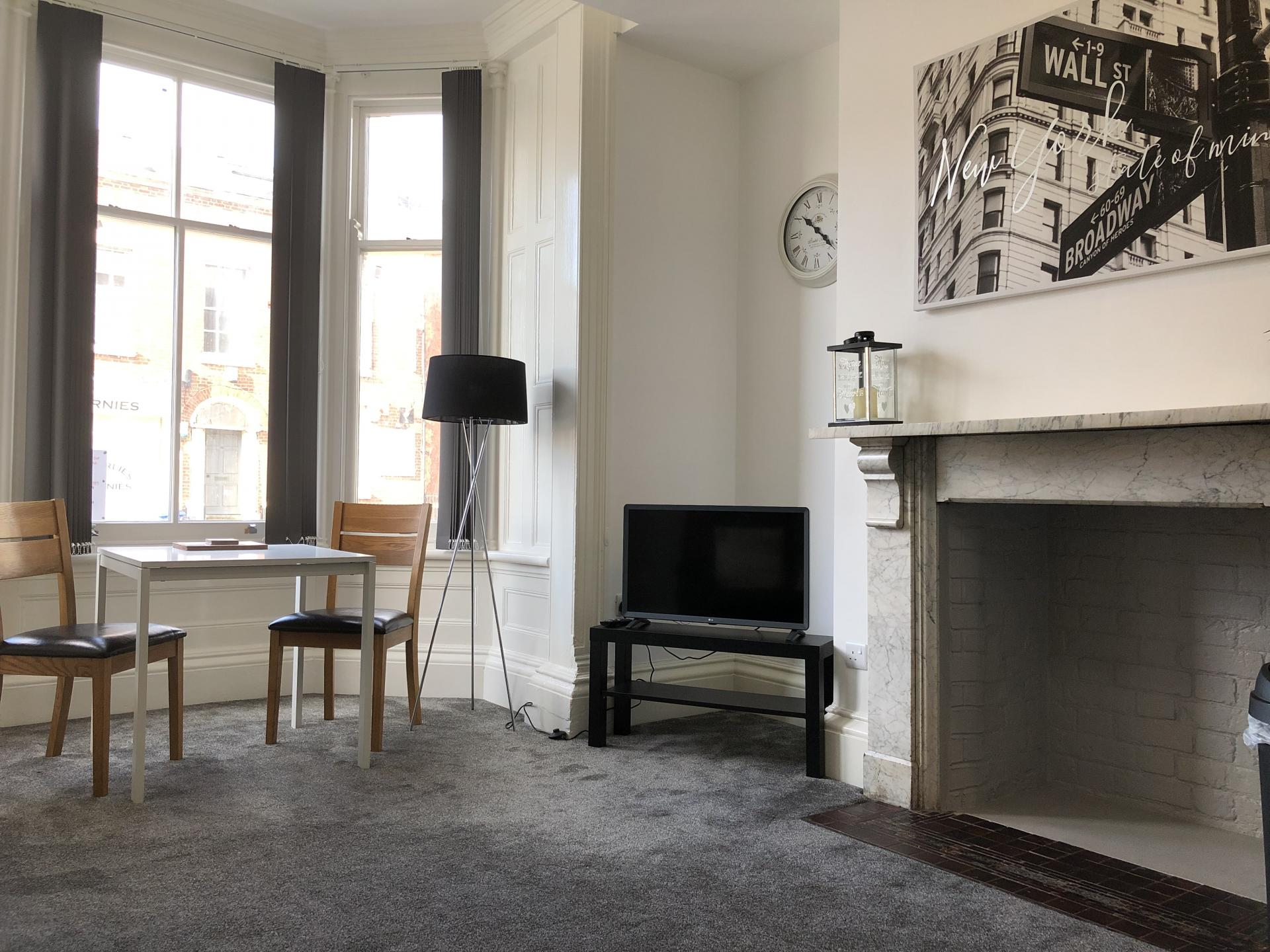 TV at Fishergate Apartment
