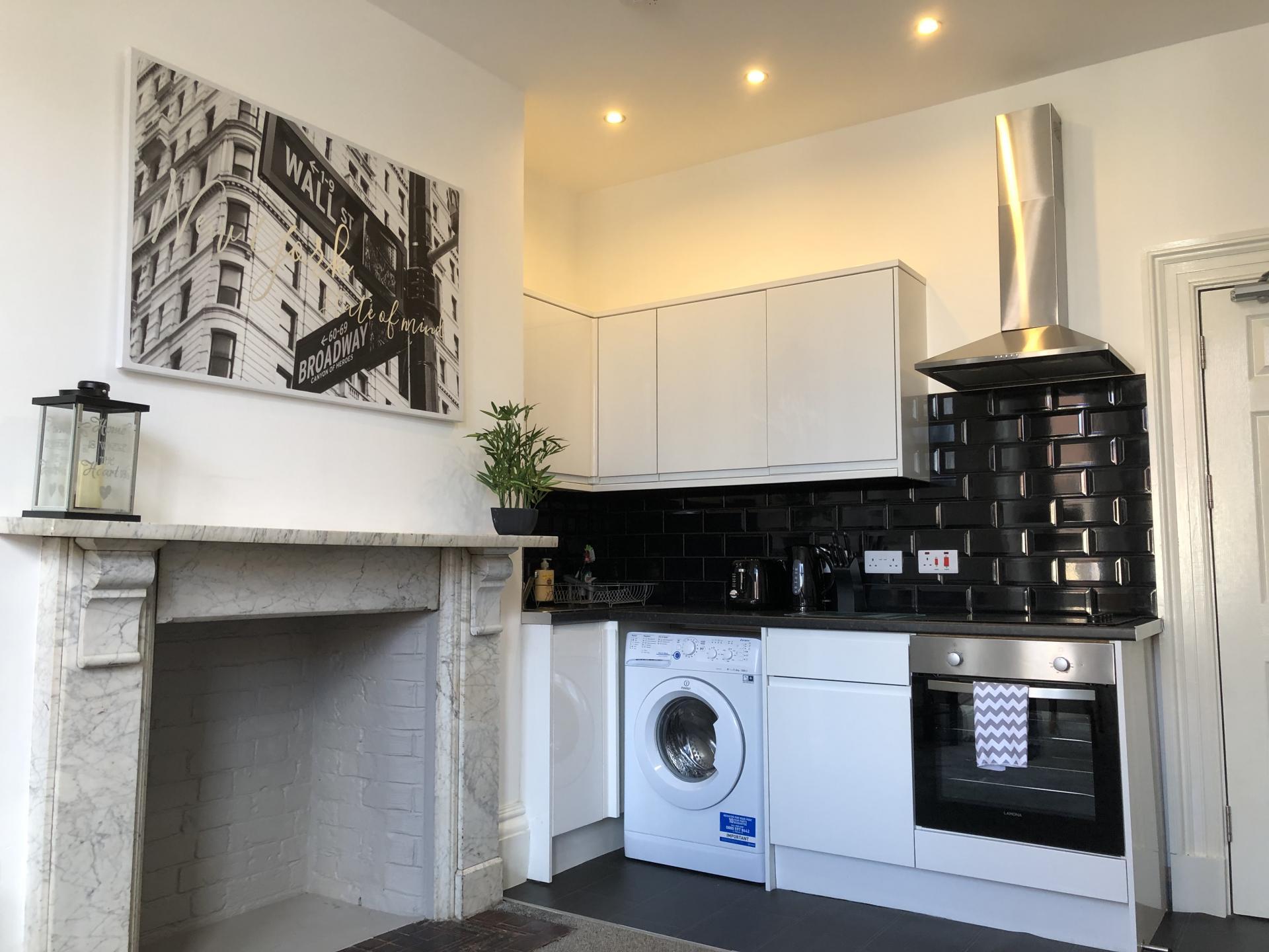Kitchen at Fishergate Apartment