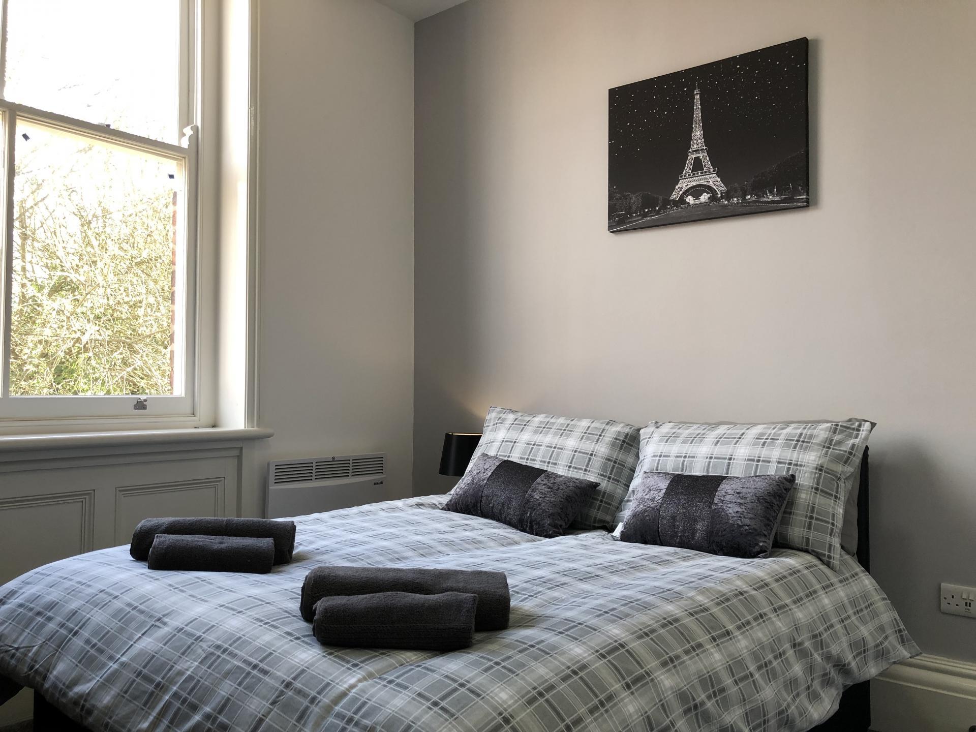 Bedroom at Fishergate Apartment