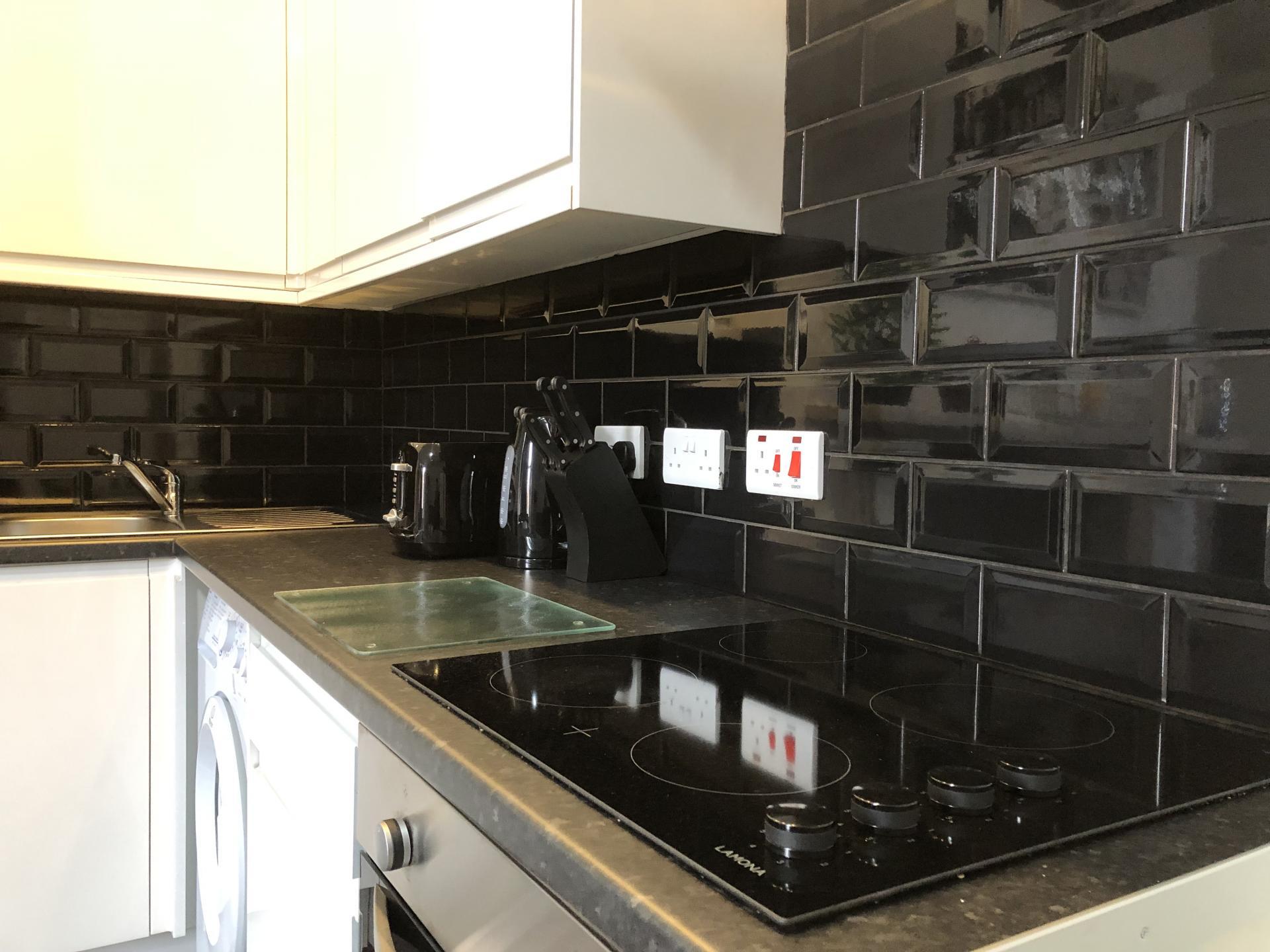 Kitchen facilities at Fishergate Apartment