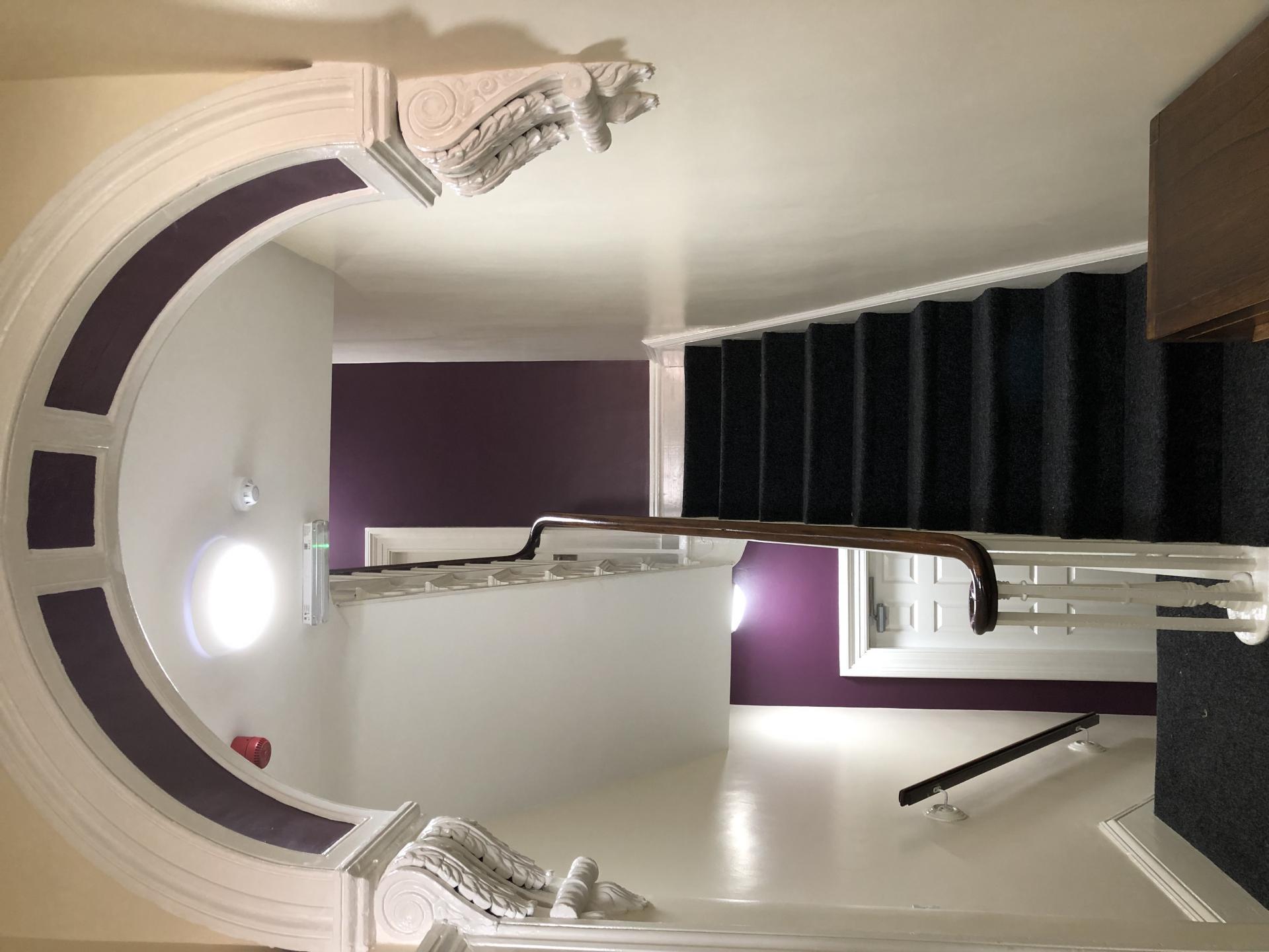 Stairs at Fishergate Apartment