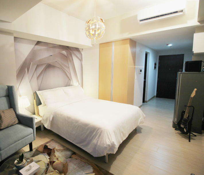 Armchair at One Eastwood Avenue Apartments, Bagumbayan, Manila