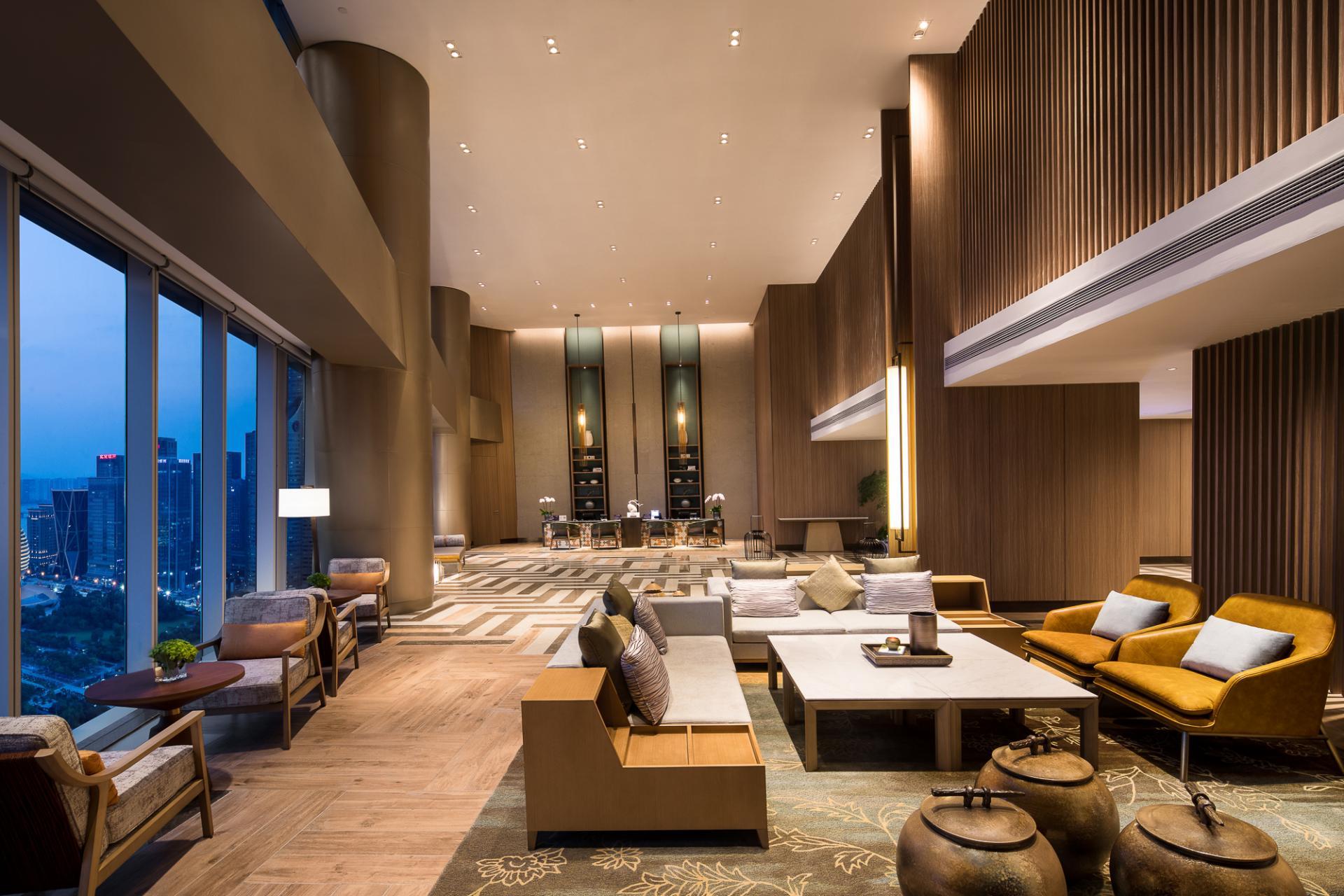 Lobby at Ascott Raffles City Hangzhou Apartment