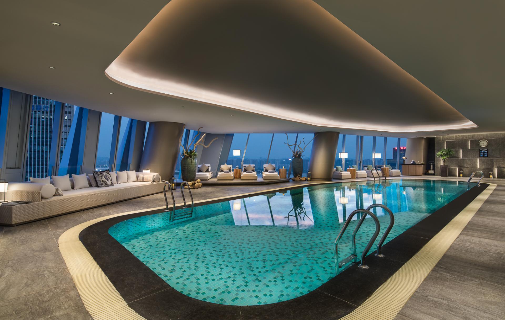 Pool at Ascott Raffles City Hangzhou Apartment