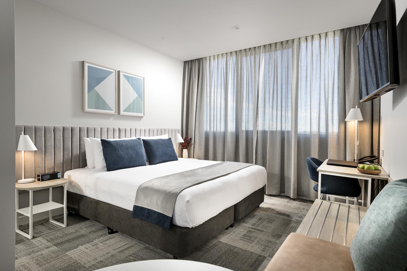 Bedroom at Quest Midland