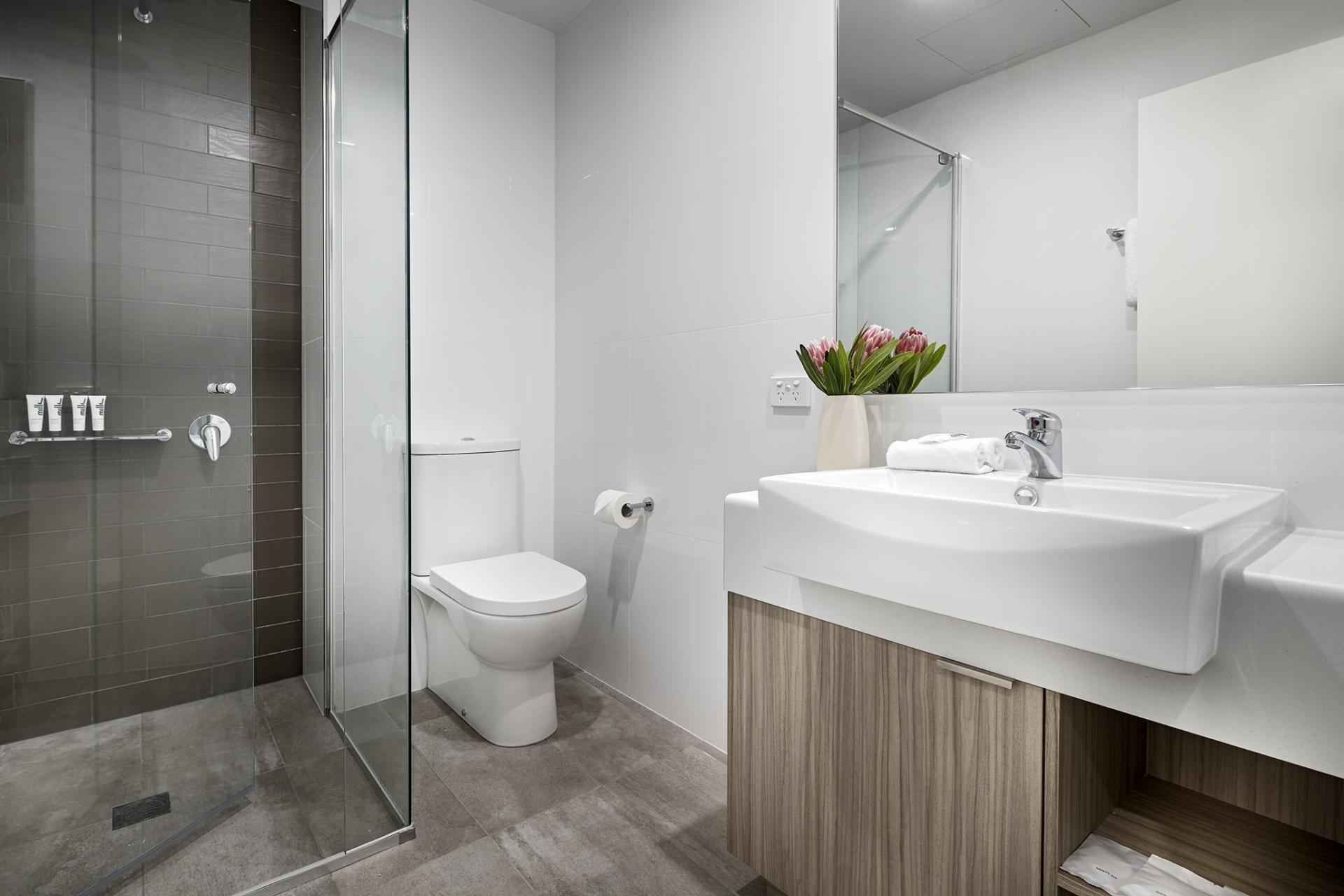 Bathroom at Quest Midland
