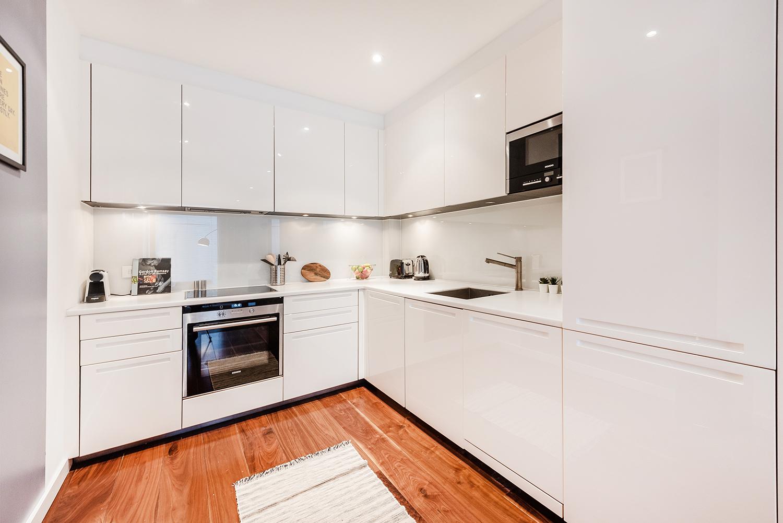 Kitchen at Peter Street Apartment