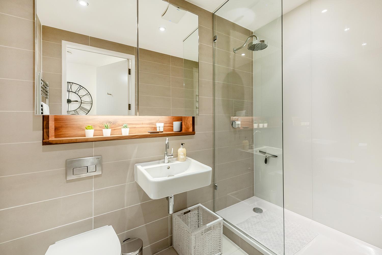 Bathroom at Peter Street Apartment