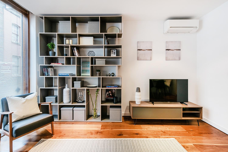 TV at Peter Street Apartment