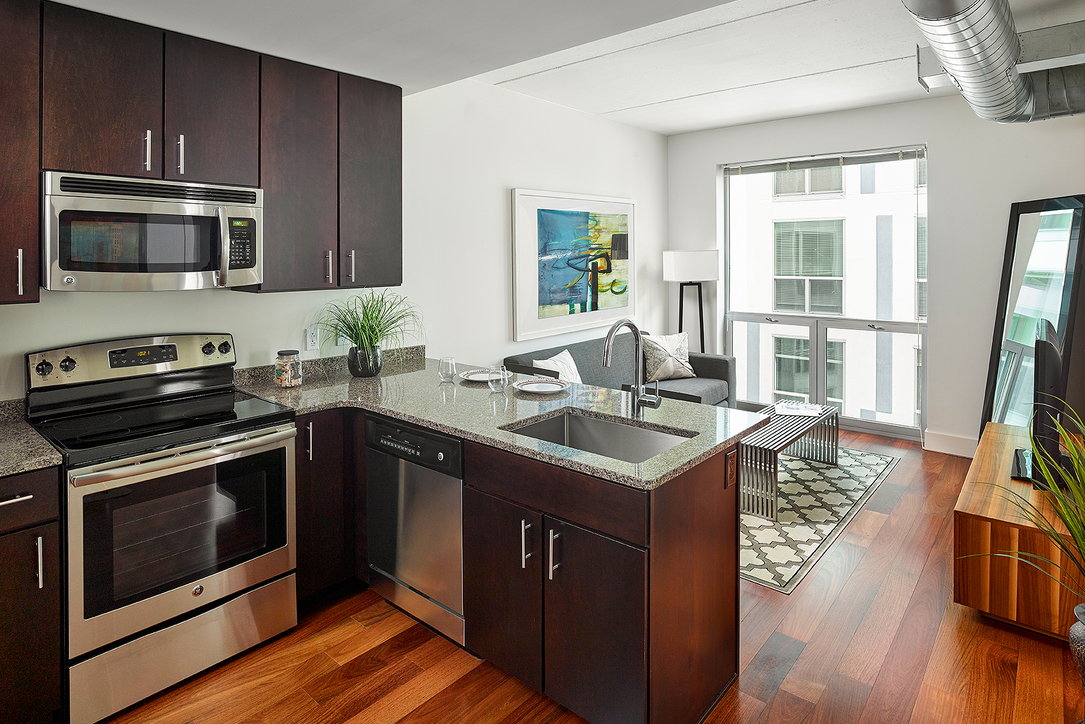 Kitchen at Aq Rittenhouse Apartment