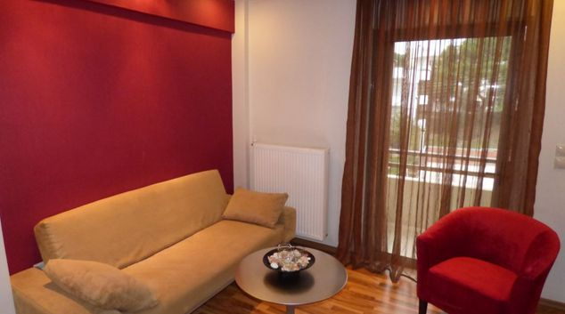 Living room at Athens Habitat Hotel