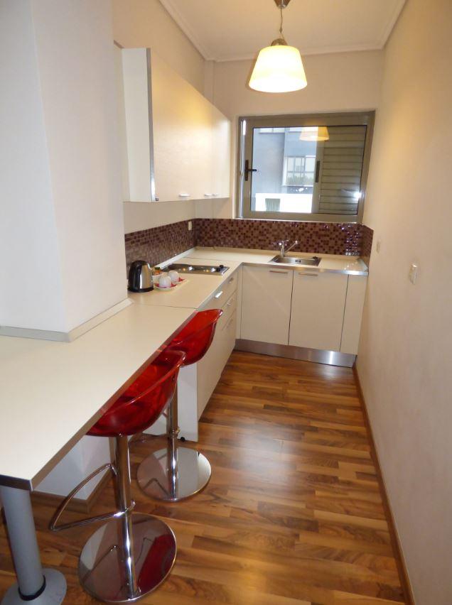 Kitchen at Athens Habitat Hotel