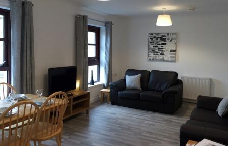 Living room at Merchant City