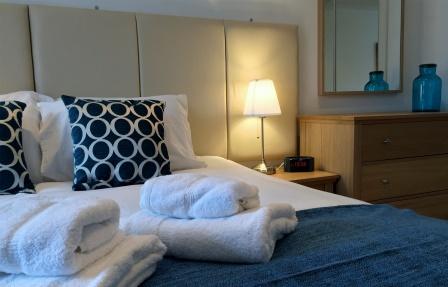 Cosy bedroom at Merchant City