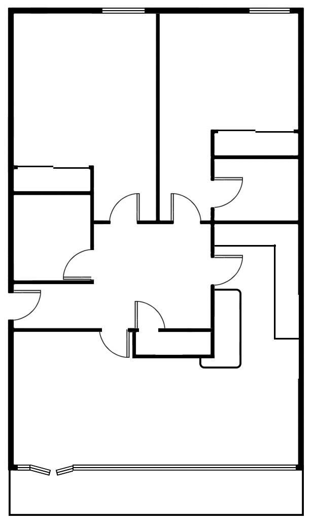 Floor plan 1 at Exhibition Apartments