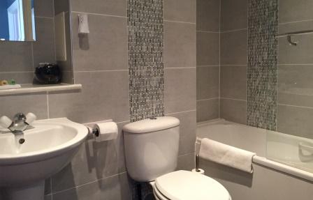 Bathroom at Exhibition Apartments