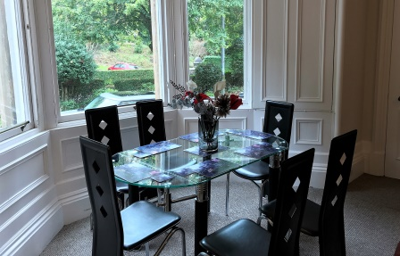 Dining area at Rosslyn Terrace Apartment