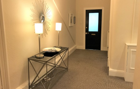 Hall at Rosslyn Terrace Apartment