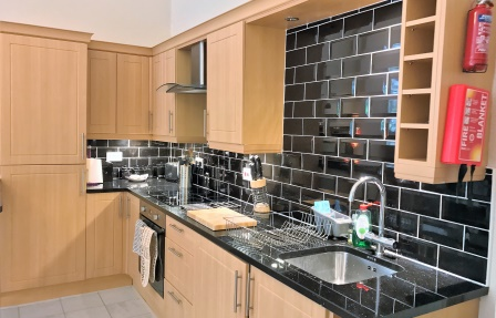 Kitchen at Rosslyn Terrace Apartment