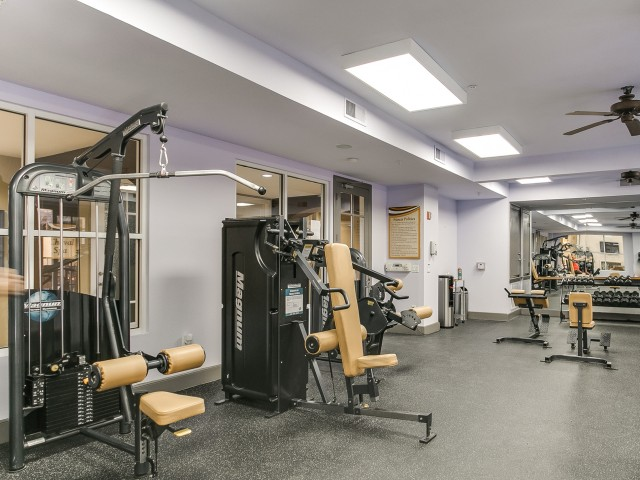 Fitness centre at Cheval Apartment, Memorial Park, Houston