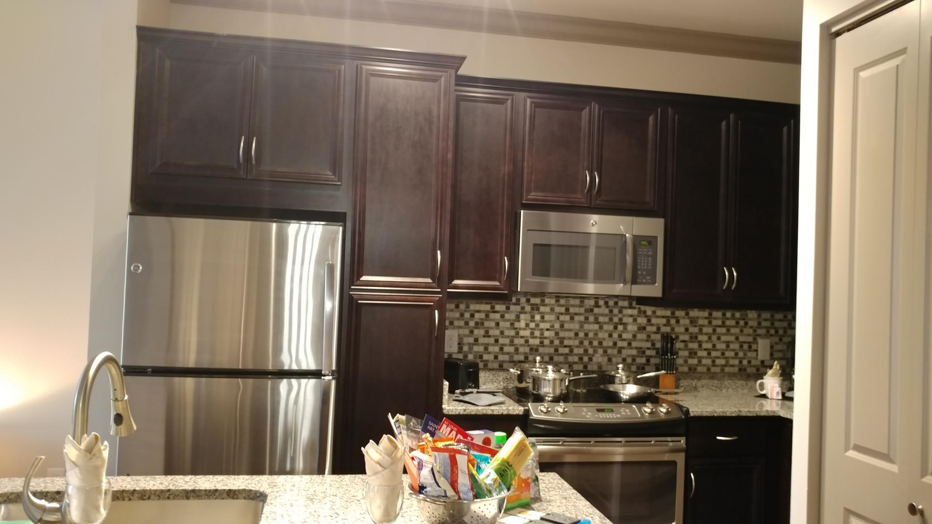 Kitchen at The Orion Apartments