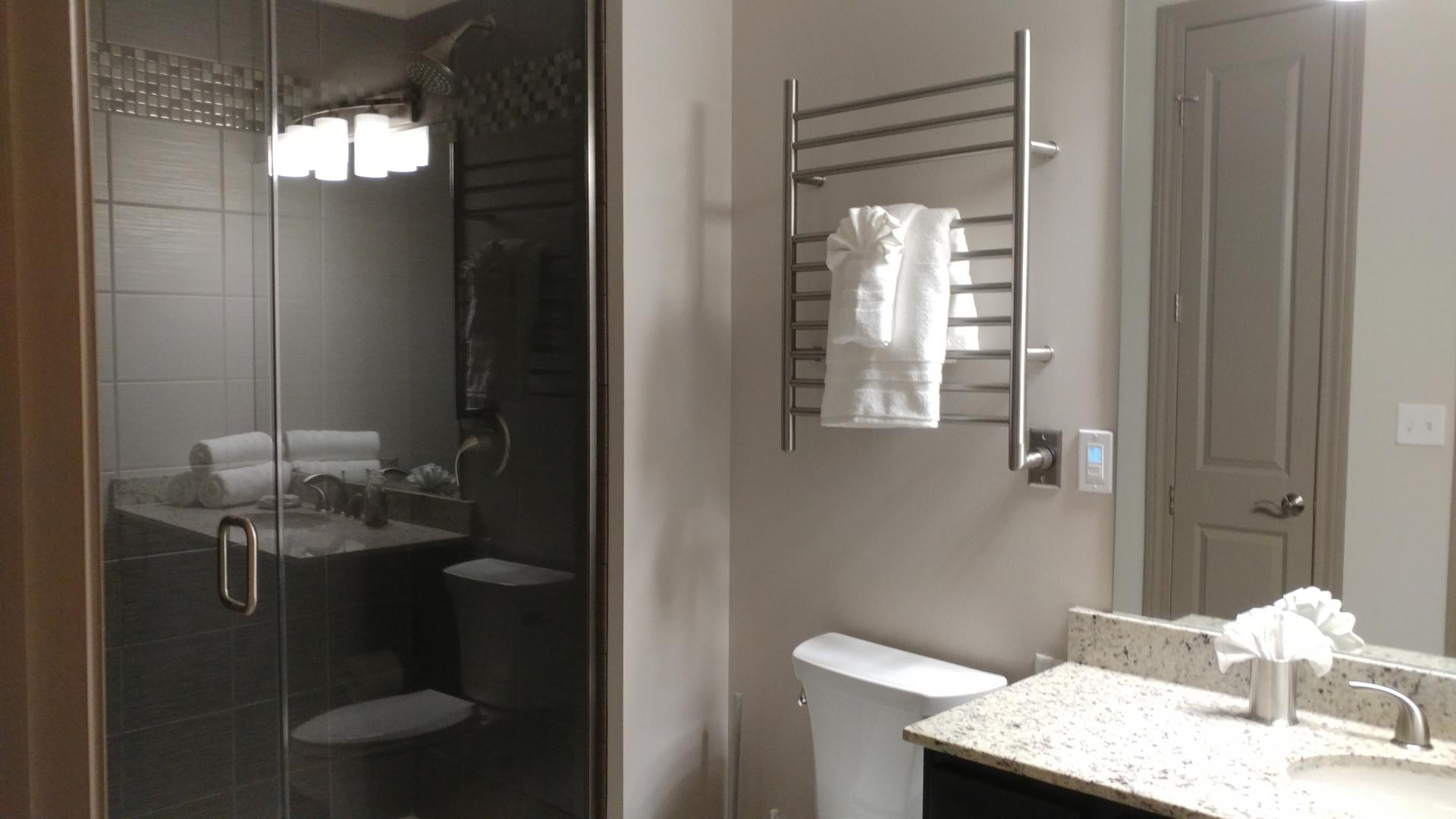 Bathroom at The Orion Apartments